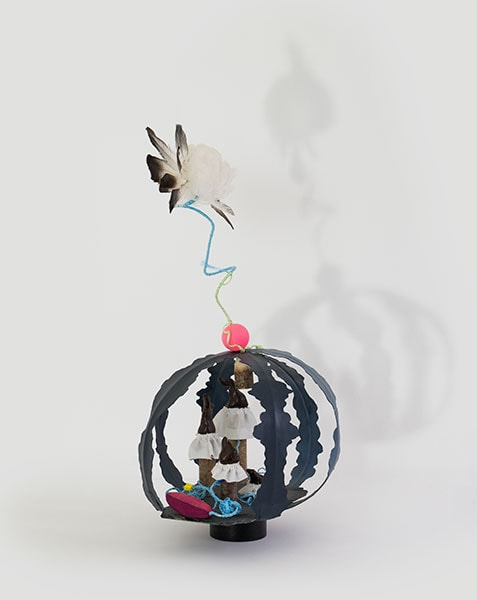 Sculpture: Ascension by Alexandra Drysdale, 2018 dimensions: 60 cm x 30 cm x 30 cm; mixed media
