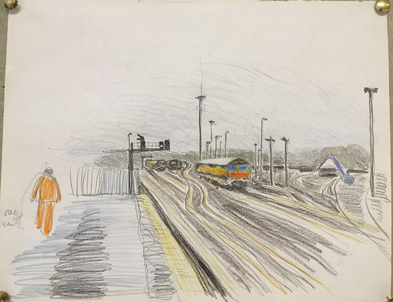 Westbury station, by Alexandra Drysdale