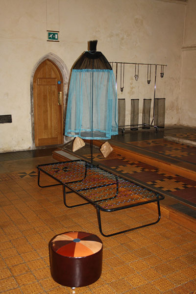 Easter Art Installation at Michaelhouse Church - an exhibition by Alexandra Drysdale in 2010