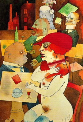Ecce Homo, George Grosz - studied in art history lecture The Good, the bad and the Ugly - Alexandra Drysdale on 20th century German art