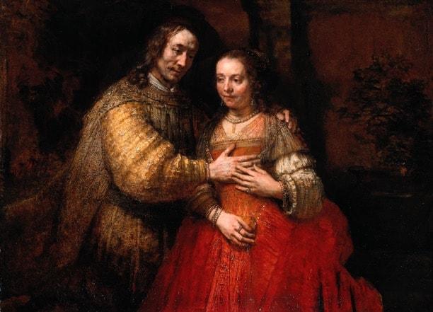 Jewish Bride, Rembrandt