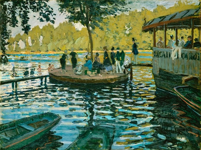 La Grenouillere, Monet - Renaissance to Modernism - an Art History course given by Art Society lecturer Alexandra Drysdale