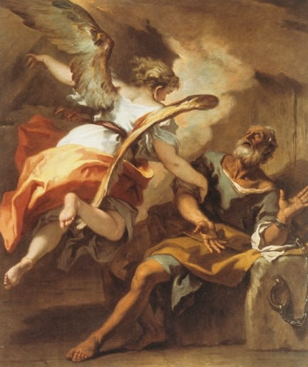 Liberation of St Peter by Sebastiano Ricci - Air, angels and Aeroplanes Art History lecture