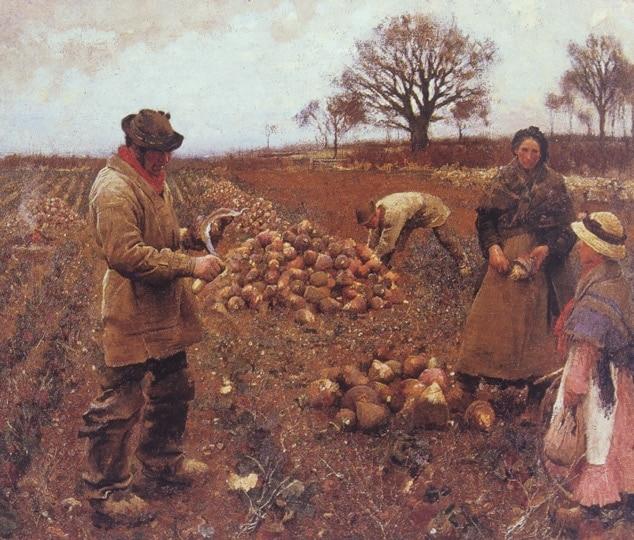 Winter Work, by George Clausen